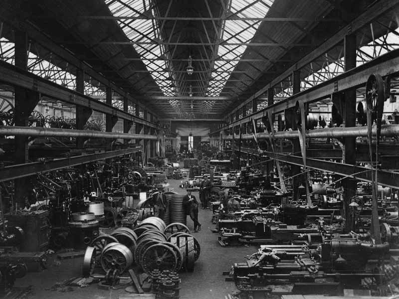 Industrial Factory early 20th Century Vibration White Finger
