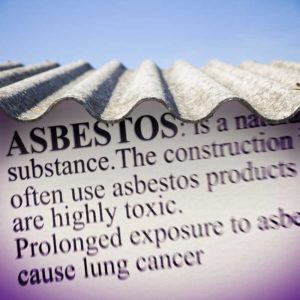 Asbestos in the workplace